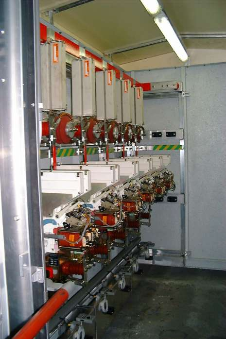 3kV direct current distribution shelter